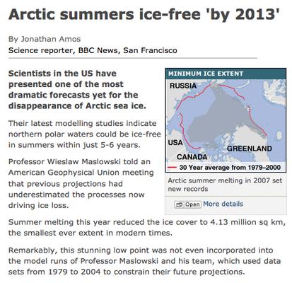 dossier - Dossier une nouvelle ERE GLACIERE a commencé, BP, Gulf Stream Arctic10