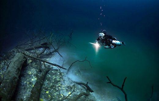 Incroyable : ils ont découvert une rivière dans l'eau !  Rivi_r13