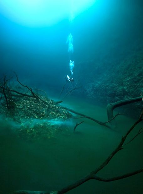 Incroyable : ils ont découvert une rivière dans l'eau !  Rivi_r14