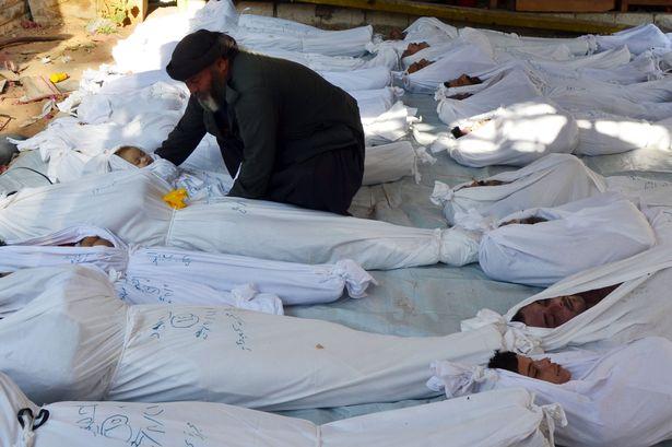 Syrie – Le Massacre Chimique d'Al Ghouta.  Syria-11