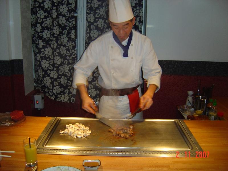 Restaurant japonais Kagayaki teppanyaki à Paris 3ème Kagaya10