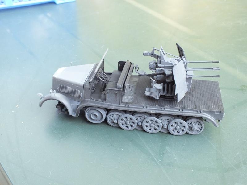 sdkfz - Sdkfz 7/1 Tamiya 135 Dscf2214