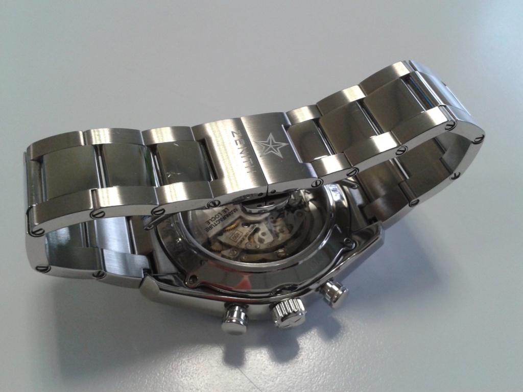 Zénith Elprimero 42mm bracelet acier de remplacement ? 20160217