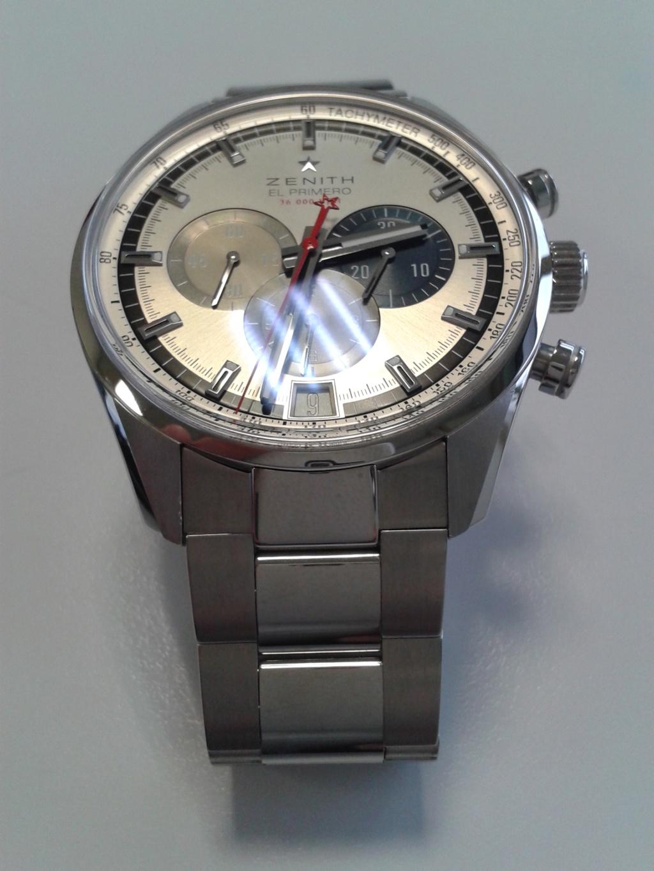 Zénith Elprimero 42mm bracelet acier de remplacement ? 20160219