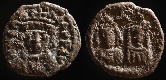 Demi silique d'Héraclius émis à Carthage Bc087110