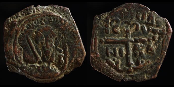 Follis de Tancrede, régent de Bohemond I prince d'Antioche Divcrz11