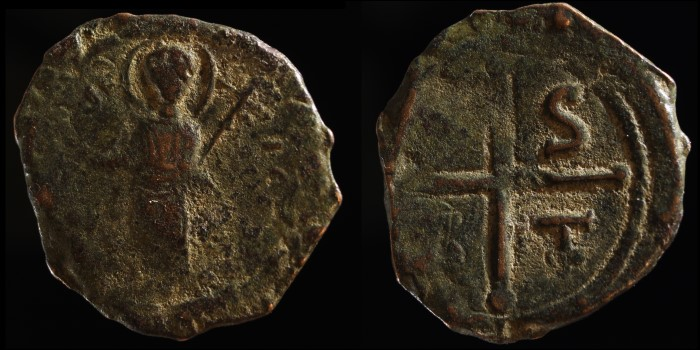 Follis de Tancrede, régent de Bohemond I prince d'Antioche Divcrz12