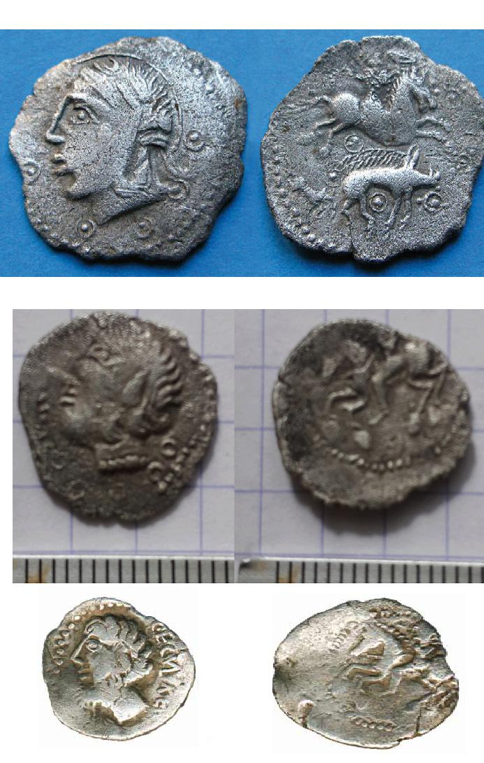 Identification monnaie gauloise Drachm10