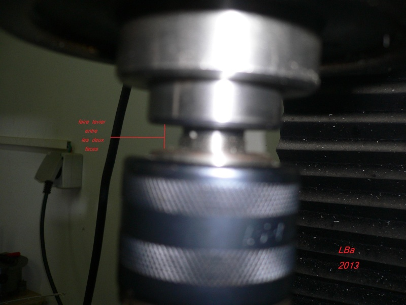[ mini RENOVATION ] Perceuse à colonne PRECIS  Damont10