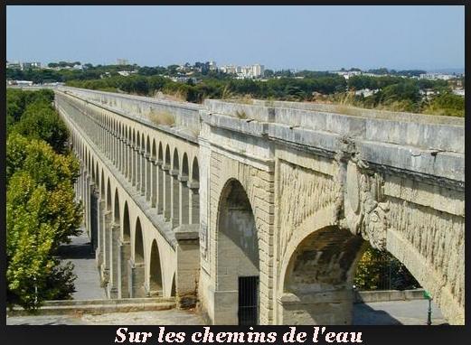 """Sur les chemins de l'eau """"Département du Gar 30"""" Aquedu10"""