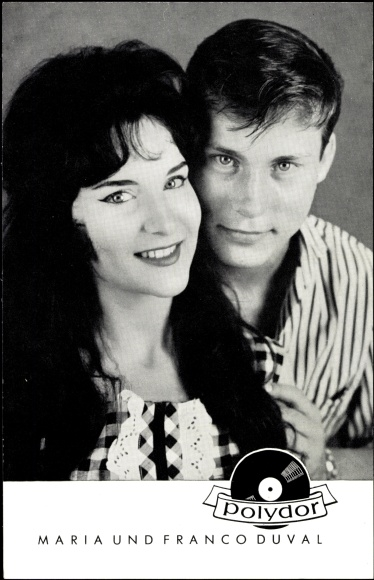 Franco Duval & Maria Duval - Дюваль в молодости Maria_14