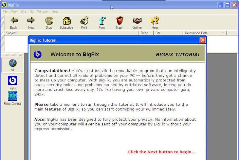 BigFix 1.7.6.0 1116-110