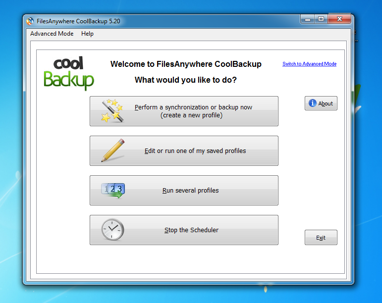 FilesAnywhere CoolBackup 5.59b Build 284 - Σας επιτρέπει να κάνετε backup τα αρχεία σας αυτόματα 14837310