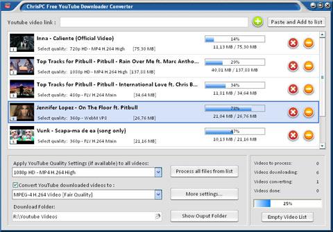 ChrisPC Free YouTube Downloader Converter 4.60 - Κατεβάστε τα αγαπημένα σας βίντεο στο PC Chrisp11