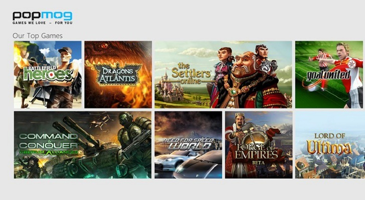 Free Online Games - Παίξτε τα καλύτερα online games στα Windows 8 Downlo12
