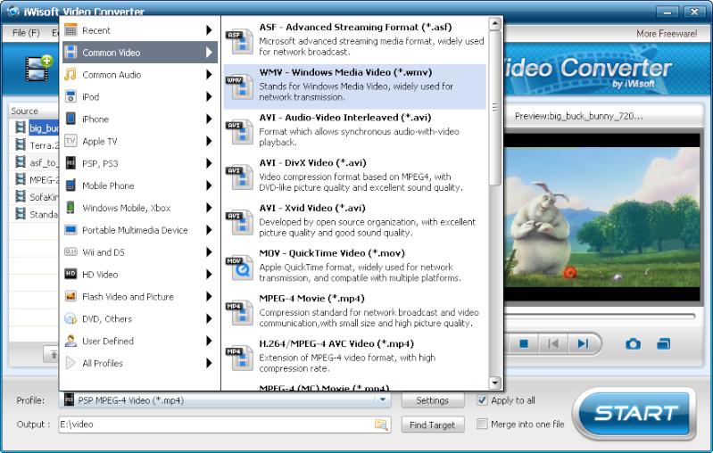 iWisoft Free Video Converter 1.2 - Μετατρέψτε και βάλτε την υπογραφή σας σε βίντεο Free_v10