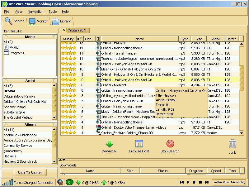 LimeWire Music 4.0.1 - Come back! Limewi10