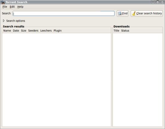 Torrent Search 0.11.2 - Βρείτε αρχεία torrent σε διαφορετικές ιστοσελίδες Mainwi11