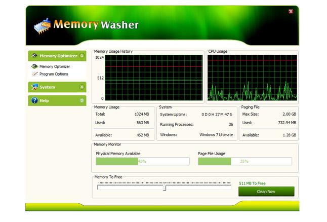 Memory Washer 7.1.0 - βελτιστοποίηστε την ram σας Mw_hom10