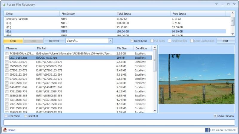 Puran File Recovery 1.2.1 - Ανακτήστε διαγραμμένα αρχεία Puran-10
