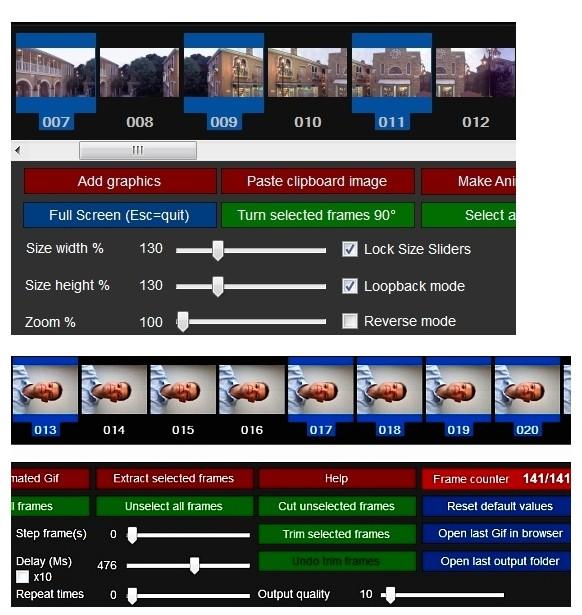 KickMyGraphics 2.0 - Δημιουργήσετε κινούμενες εικόνες GIF Scree113