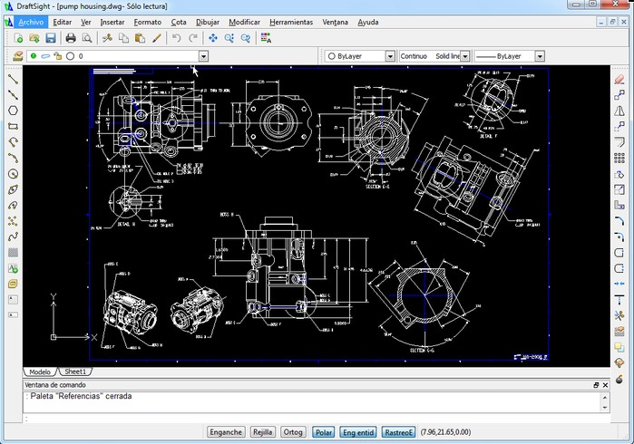 DraftSight V1R3.1 - Free CAD software για DWG αρχεία Scree129