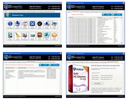 Safe PC Cleaner Free 4.1 - Ένα βοηθητικό πρόγραμμα για τον καθαρισμό και τη βελτιστοποίηση του υπολογιστή σας Scree136