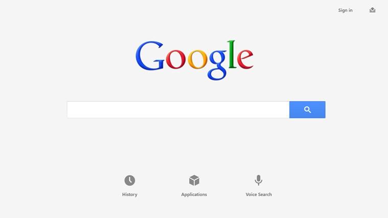 Google Search 1.1.1.37 - Aναζητήστε στο Google χωρίς Browser Scree139