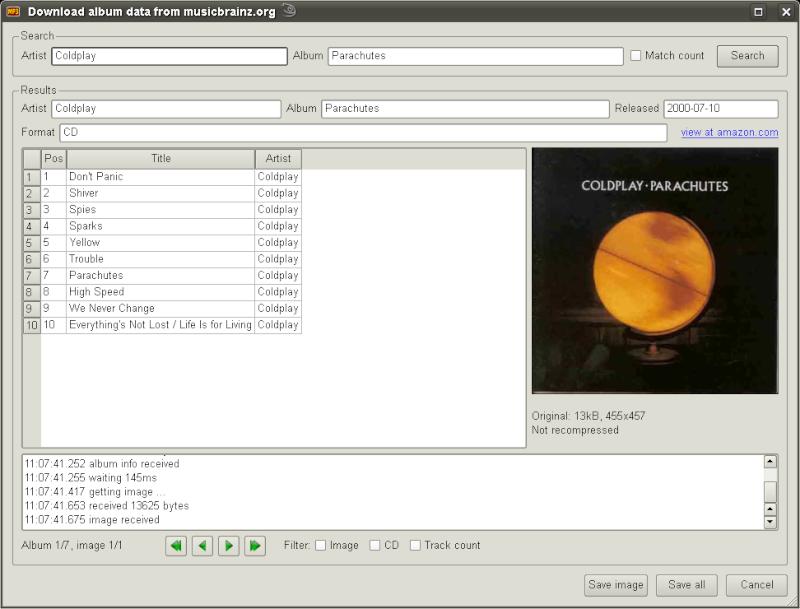 MP3 Diags 1.0.12.079 - Ένα εξελιγμένο πρόγραμμα επεξεργασίας ετικετών Screen15
