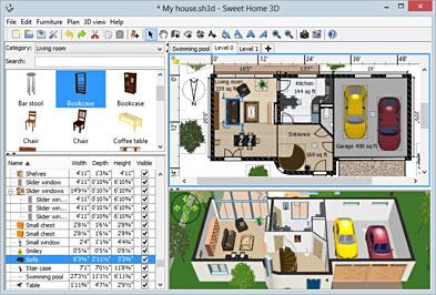 SweetHome3D + portable 4.0 - Σχεδιάστε τον εσωτερικό χώρο του σπιτιού σας Sweeth10