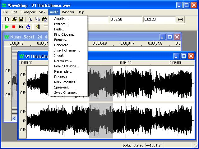 WaveShop 1.0.14.001 - Ένα εύκολο στη χρήση και ελαφρύ πρόγραμμα επεξεργασίας ήχου Wavesh10