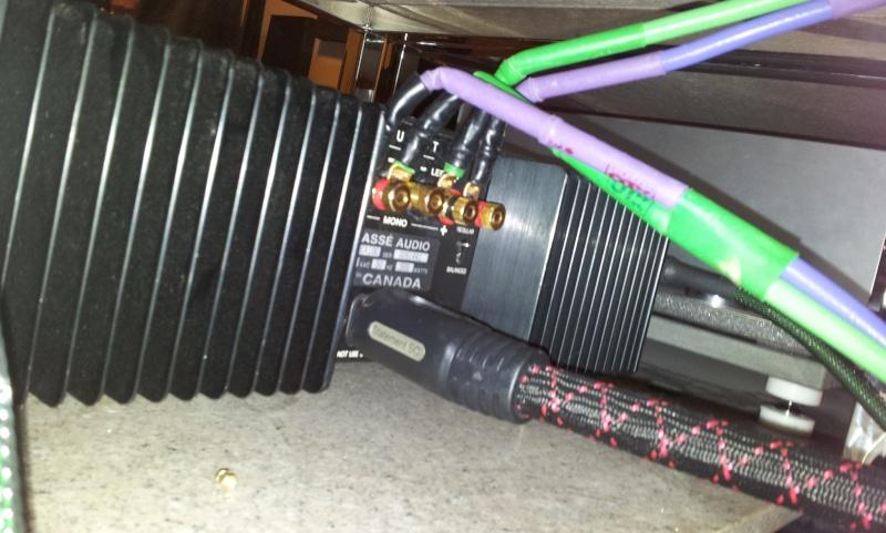 Classe CA-100 Power Amplifier (used) 2013-011