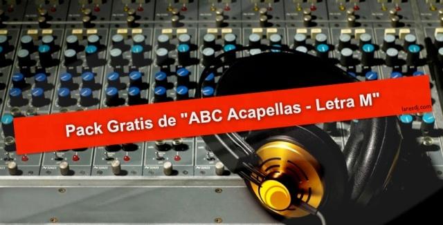 ABC Acapellas – Letra M Pack-g10