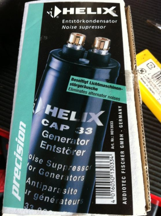 Helix Capacitor (Sold) P110