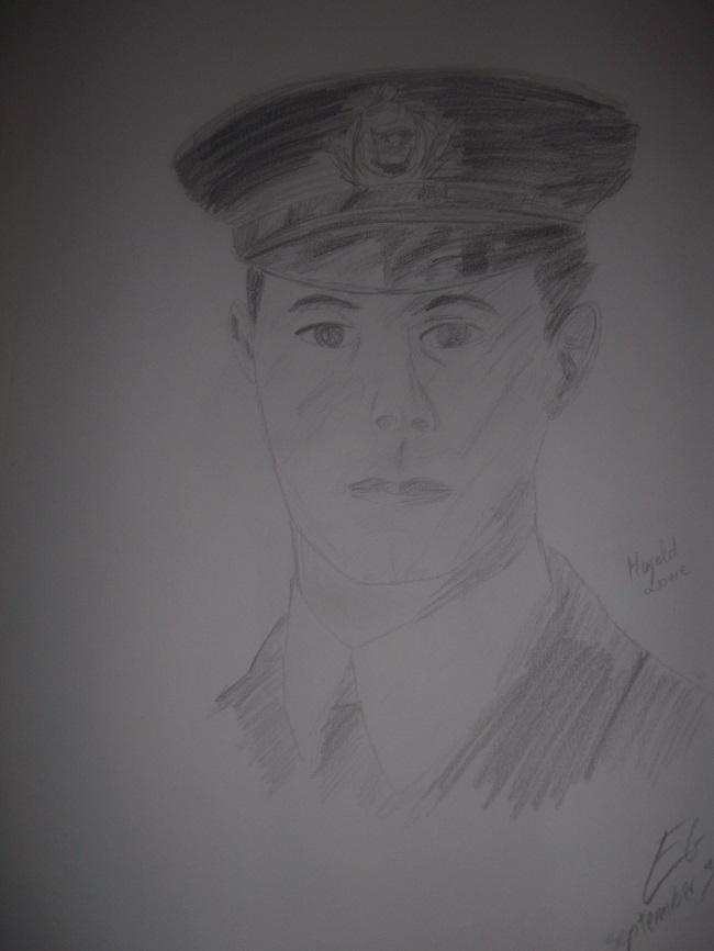 Mes dessins en rapport avec le Titanic. Dscf1910