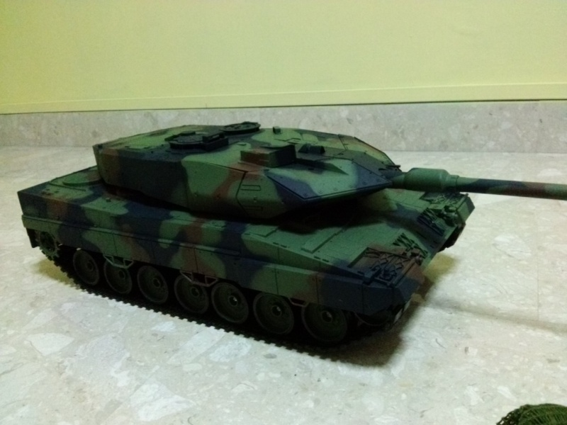 Slow Tank - HL 1/16 German Leopard 2A6 Cam03911