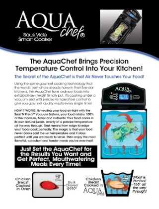 KitchenAdvance AquaChef and Perfect Chop Review & Giveaway Ends 09/10 Ended Aquach11
