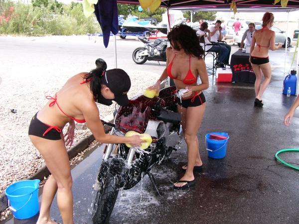 900 VN - comment nettoyez vous votre moto ? Lavage10