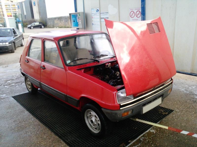 R5 GTL rouge 5 portes de 1981 P0852_10