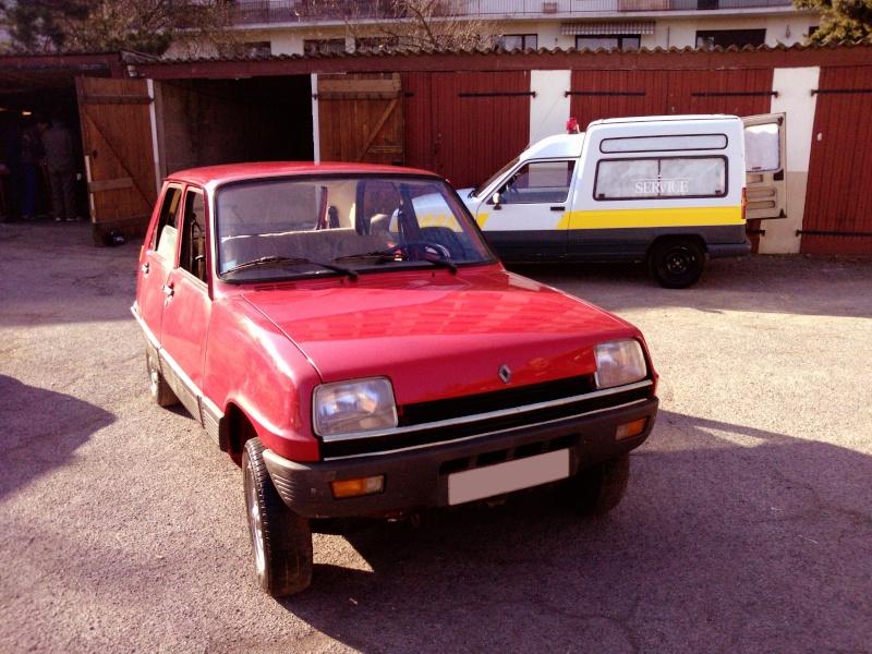 R5 GTL rouge 5 portes de 1981 P1739010