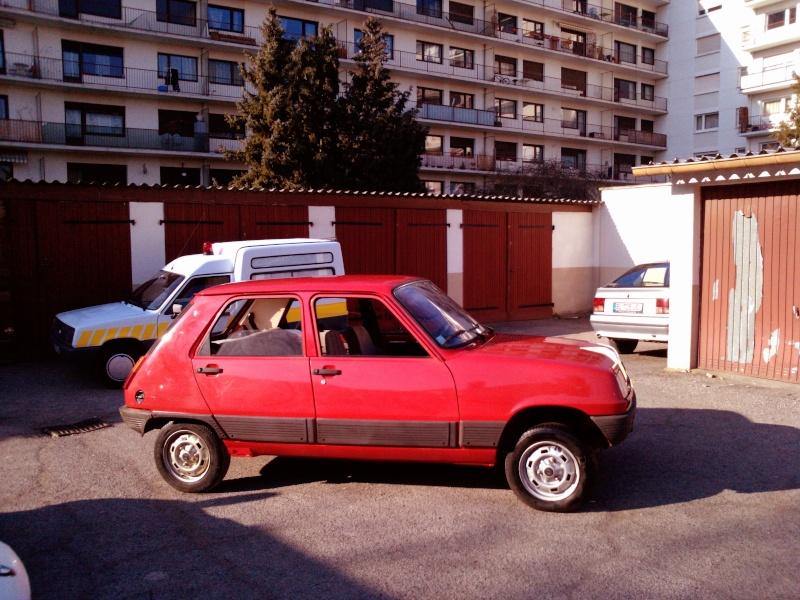R5 GTL rouge 5 portes de 1981 P1739_10