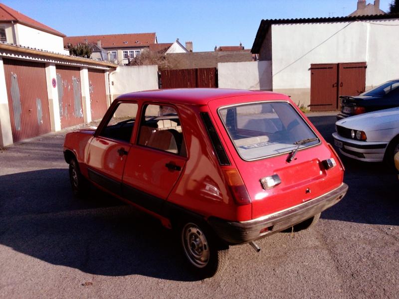 R5 GTL rouge 5 portes de 1981 P1740011