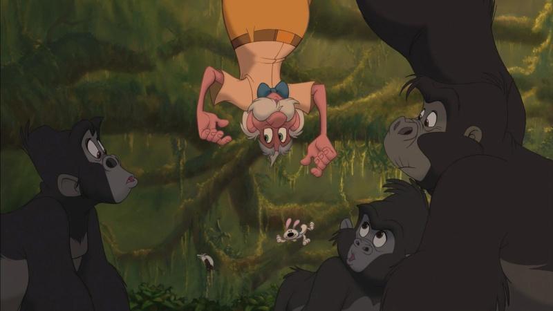 Similitudes et clins d'œil dans les films Disney ! - Page 41 Tarzan10