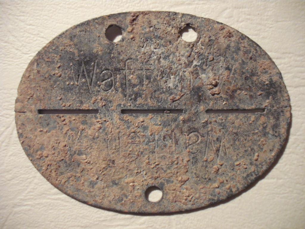 Plaque allemande WWII Dscf0424