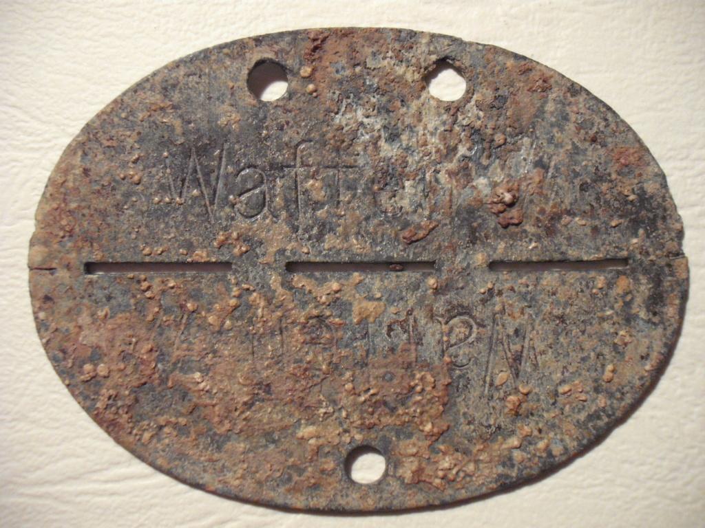 Plaque allemande WWII Dscf0425