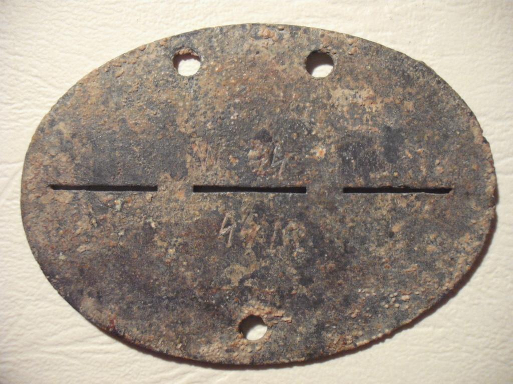 Plaque allemande WWII Dscf0427