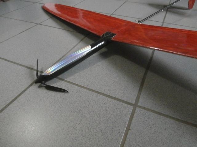 un planeur F3k pas cher, le Slingshot de chez Causemann P8070111
