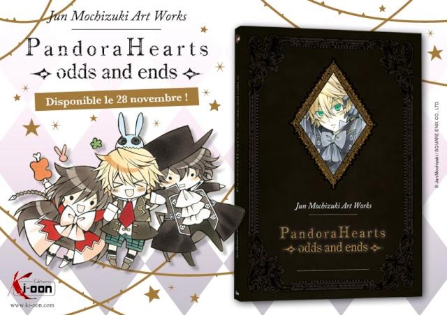 L'art-book de Pandora Hearts arrive en France ! 13092110