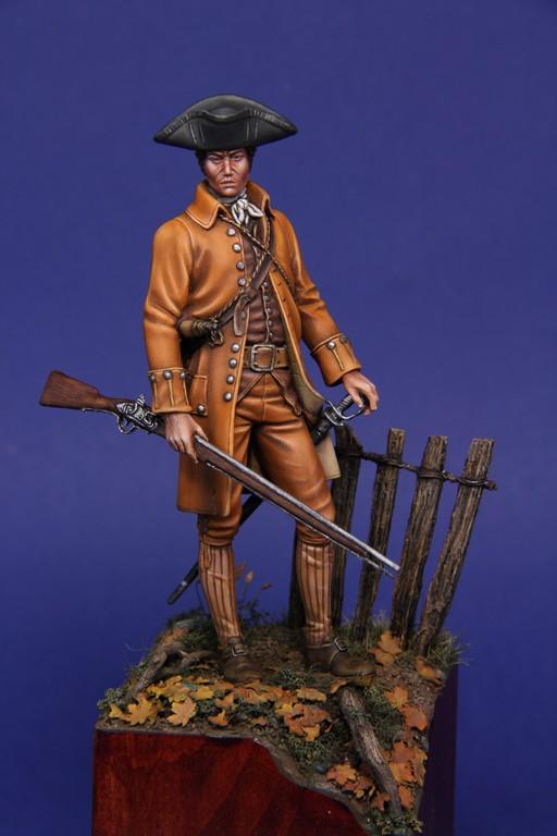 Guerre d'indépendance Américaine 1775 - Minuteman 75mm les photos... - Page 2 Img_8512