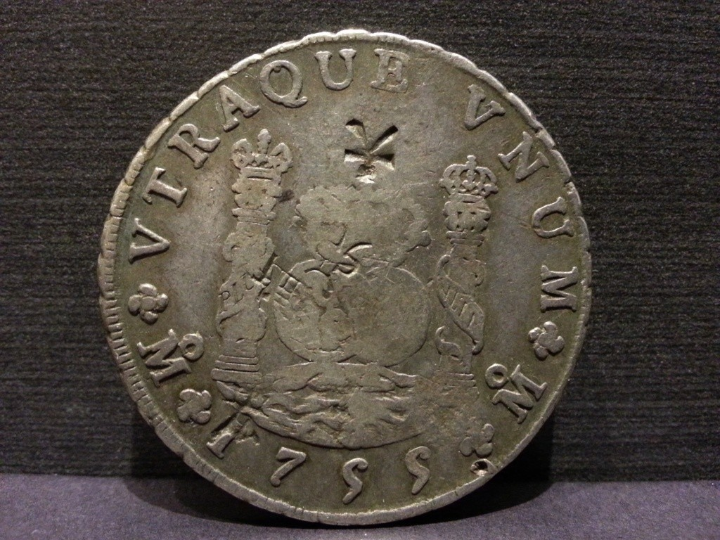 Mexico 1770-MoMF 8 Reales with counterstamp real? 20130914